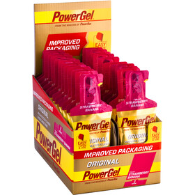 PowerBar PowerGel Original Box Strawberry Banana 24 x 41g